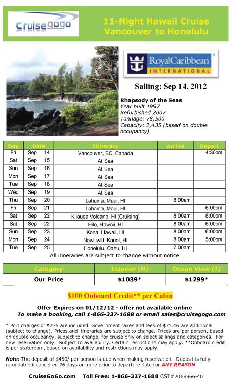 Cheap Hawaii Cruise Cheap Cruises Royal Caribbean Cruises Cheap - Hawaii cruise deals