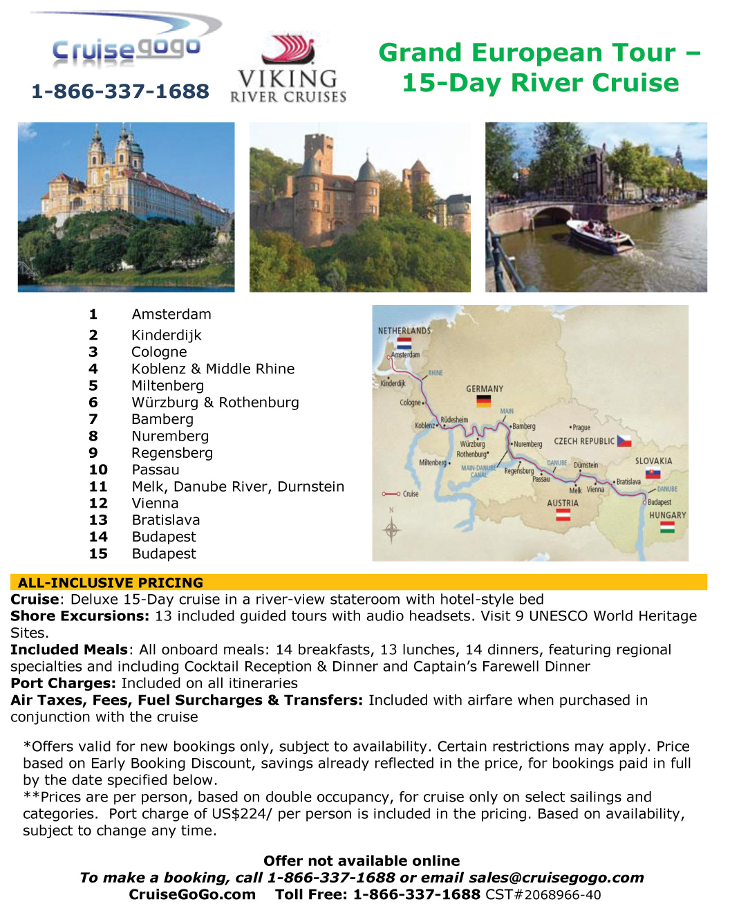 Cheap River Cruises River Cruise Deals Danube River Cruise - 10 best european river cruises 2